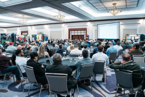 More than 650 people participated in the GCAA Management Workshop & Expo back in February, setting a new high for attendees. Photo: Tom Smarch Photography