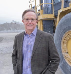 Charlie Luck, whose company expanded into Georgia in 2018, represents the third generation of Luck Stone family leadership. Photo: Luck Companies