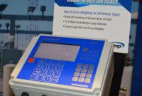 Intercomp showcased its LS-WIM scale system at ConExpo-Con/Agg 2020. Photo: P&Q Staff
