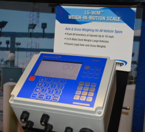 Intercomp showcased its LS-WIM scale system at ConExpo-Con/Agg 2020. Photo: P&Q Staff