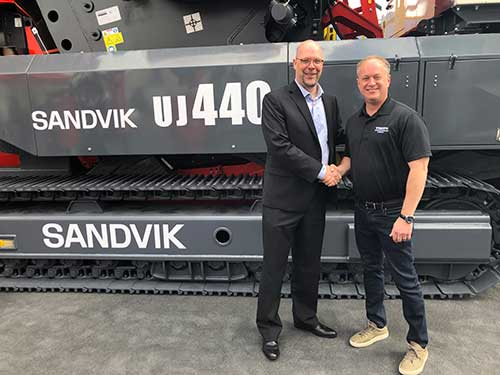 Sandvik Adds Dealer In Northern California Pit Quarry
