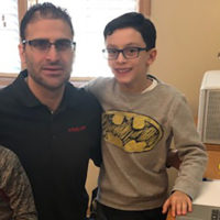 P&Q associate publisher Dino Vitanza with his sons Santino, right, and Vincent. Click to enlarge | Photo: P&Q Staff