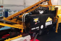 IRock's RDS-20E all-electric plant was on display at ConExpo-Con/Agg.