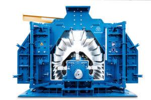 thyssenkrupp's variopactor produces gravel, chippings or mechanical sand. Photo: thyssenkrupp