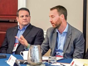 Turner Mining Group's Thomas Haun speaks at P&Q Roundtable
