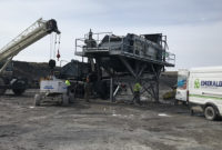 Local service is as critical as ever to aggregate producers considering the economic uncertainties brought on this year. Photo: Terex Washing Systems