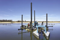 DSC Vision can be installed on DSC Dredge's full line of cutter head dredges right off the assembly line, or it can be retrofitted to existing DSC dredges or any other manufacturer's dredge in the field. Photo: DSC Dredge