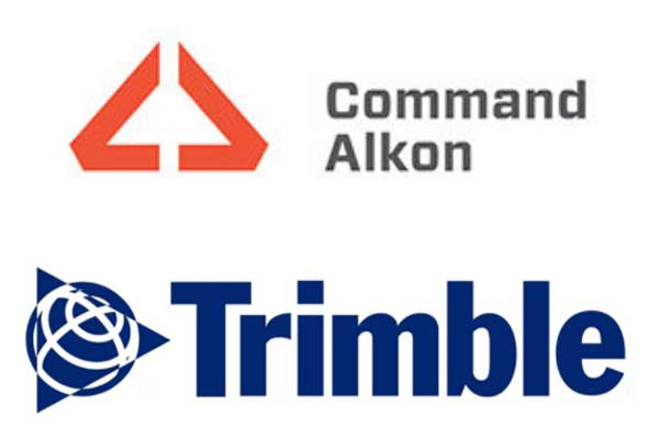 Command Alkon, Trimble logos