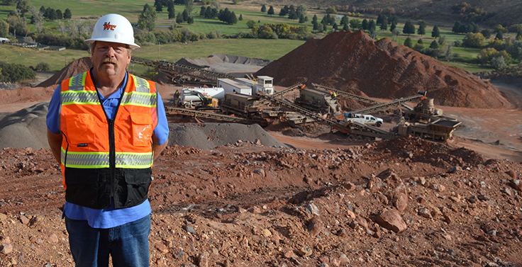 John Sather joined Whitaker Construction Co. in 2014. Photo: P&Q Staff