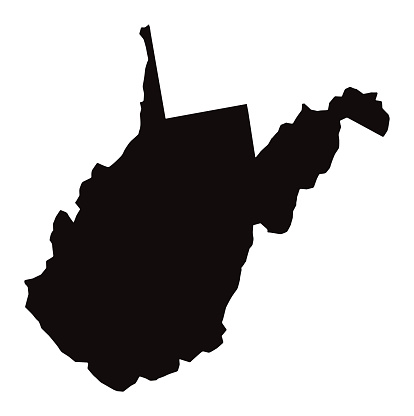 West Virginia silhouette. Photo: bamlou /DigitalVision Vectors/Getty Images