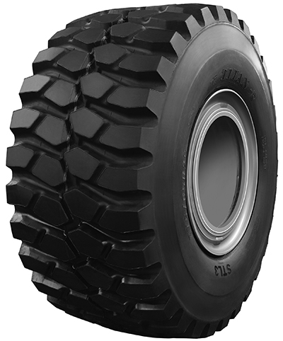 According to Titan International, the new 875/65R29 size is in high demand for articulated dump trucks, wheel loaders and scrapers used in construction, mining and quarry applications. Photo: Titan International