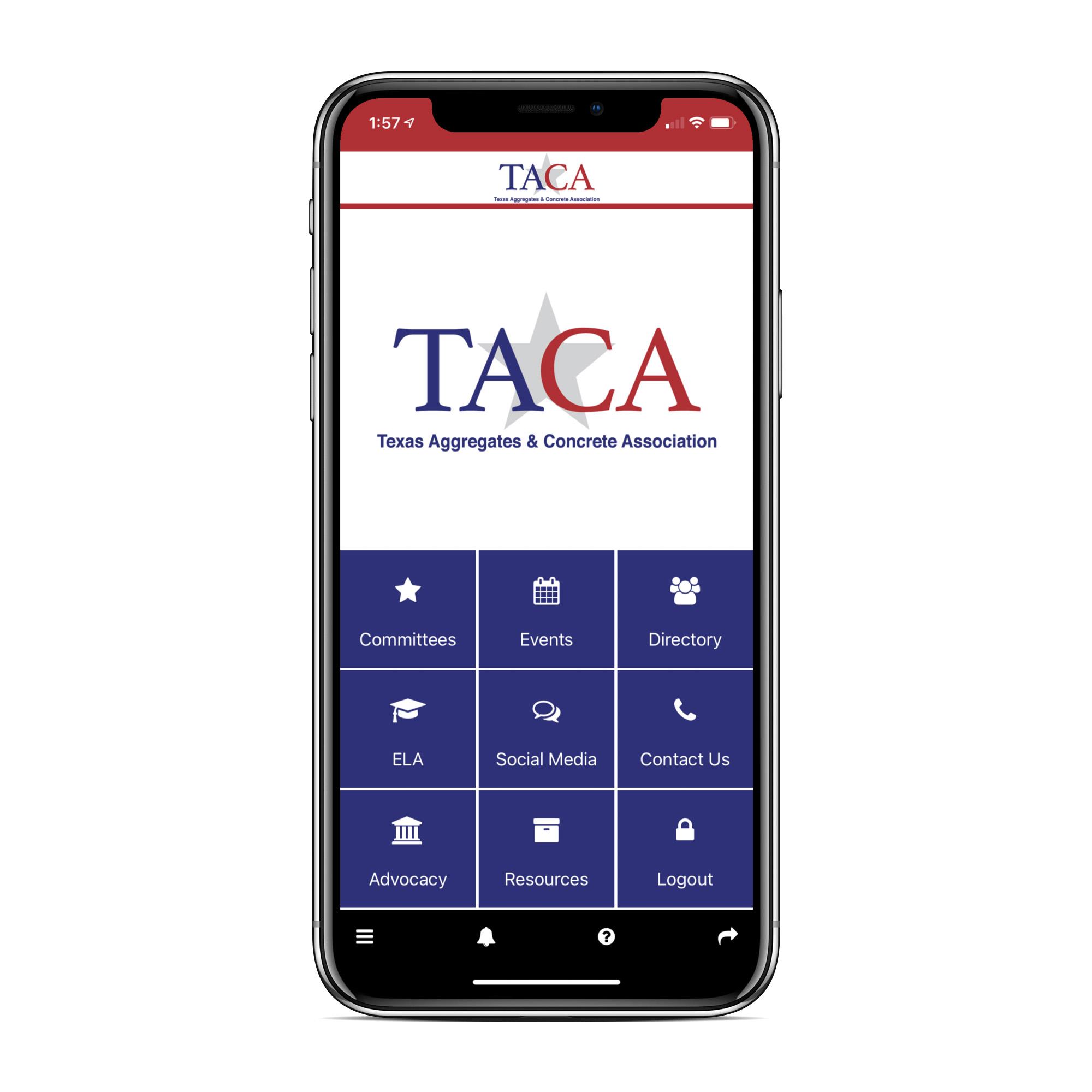 Photo: TACA app