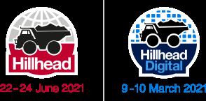 Photo: Hillhead 2021, Hillhead Digital logos