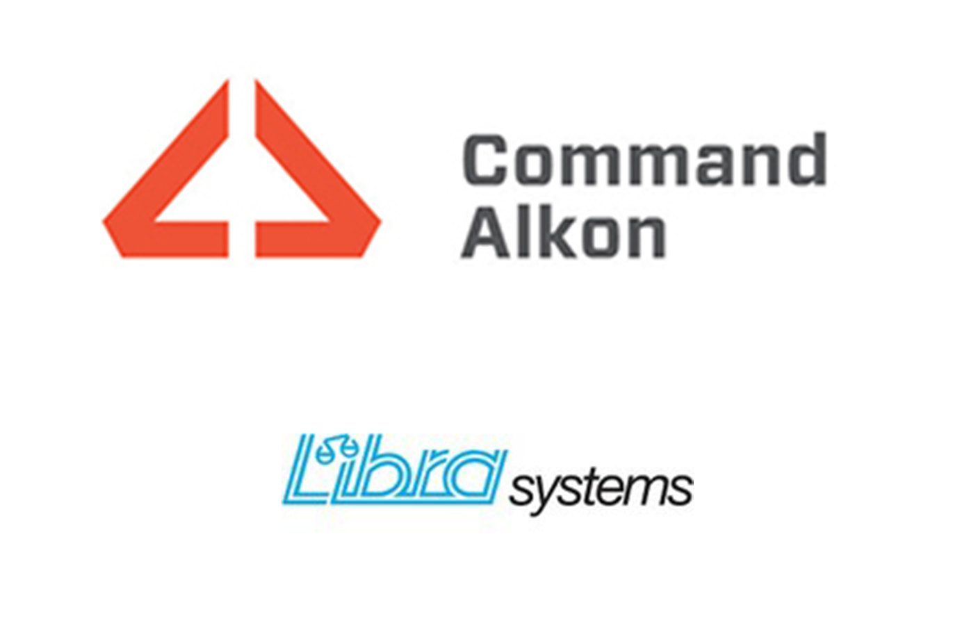 Photo: Command Alkon and Libra Systems logos