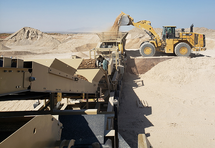 Bolinder Resources runs all Cat mobile equipment. Photo: Bill Royce