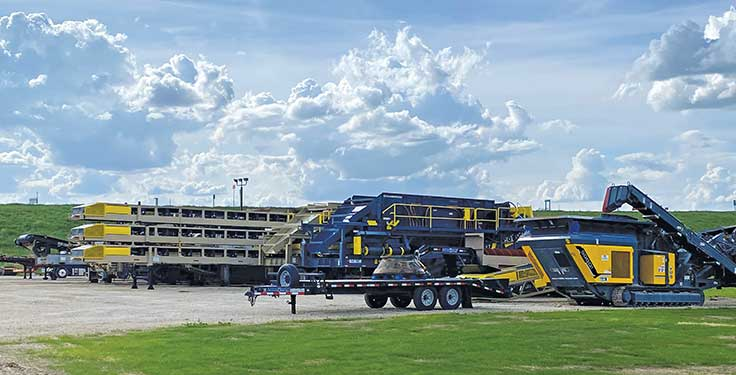 """Says Rock Machinery's Bryant Fazer: """"We see a significant need to maintain inventory levels to be responsive to our customer base."""" Photo: Rock Machinery"""