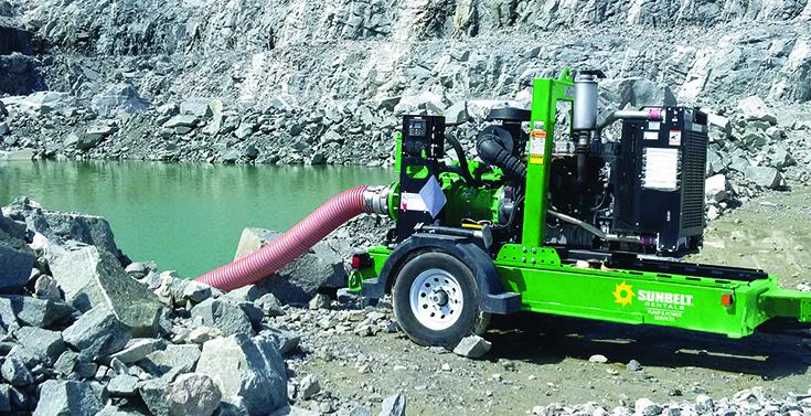 Tech sizing pumps Sunbelt Rentals