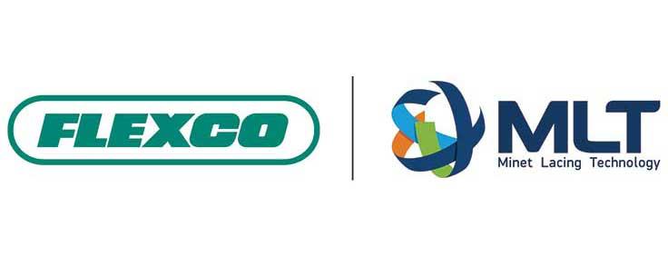 Flexco, MLT logos