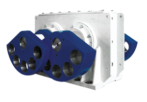 Haver & Boecker Niagara engineers Niagara exciters to set the required stroke, frequency and exact static moment for each application. Photo: Haver & Boecker Niagara