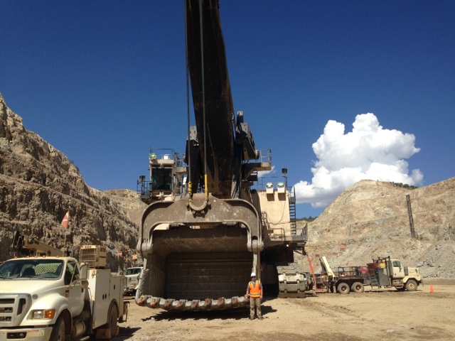 Anthony Konya has traveled the world to offer his blasting consulting services. Photo: Anthony Konya