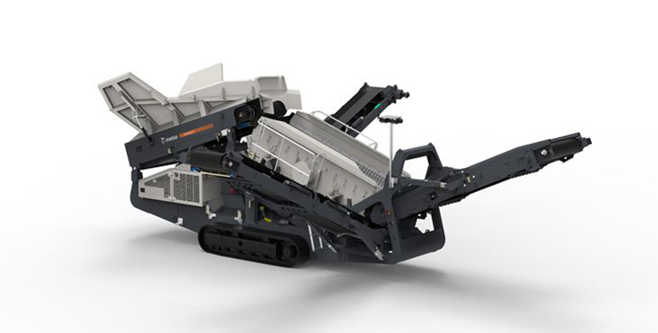 The Nordtrack S2.5 mobile screen. Photo: Metso Outotec