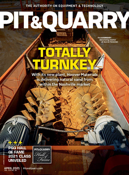 Our cover this month features Hoover Materials, a producer operating in Tennessee. Photo: Superior Industries