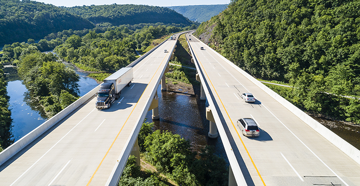 According to PennDOT, more than three-quarters of its annual budget is invested in Pennsylvania's 120,000 miles of state and local highways and 32,000 state and local bridges. Photo: Alex Potemkin / iStock / Getty Images Plus/Getty Images