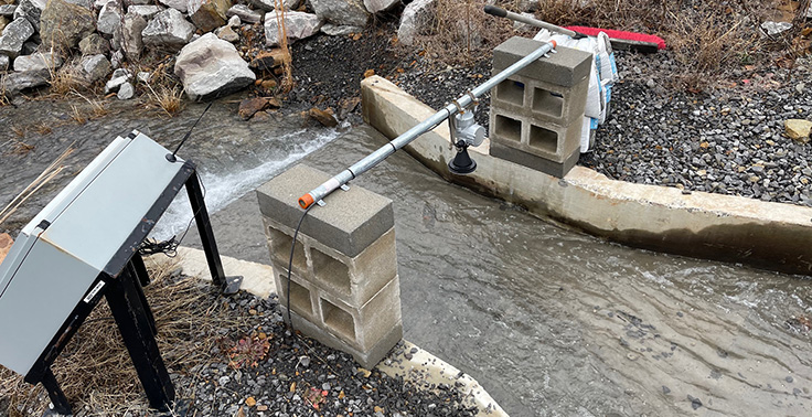 While some regulatory bodies may have previously asked for educated guesses on water volume flows at outfalls, Sauls Seismic's Mark Taylor says more regulators are putting an emphasis on monitoring discharged volumes continuously. Photo: Sauls Seismic