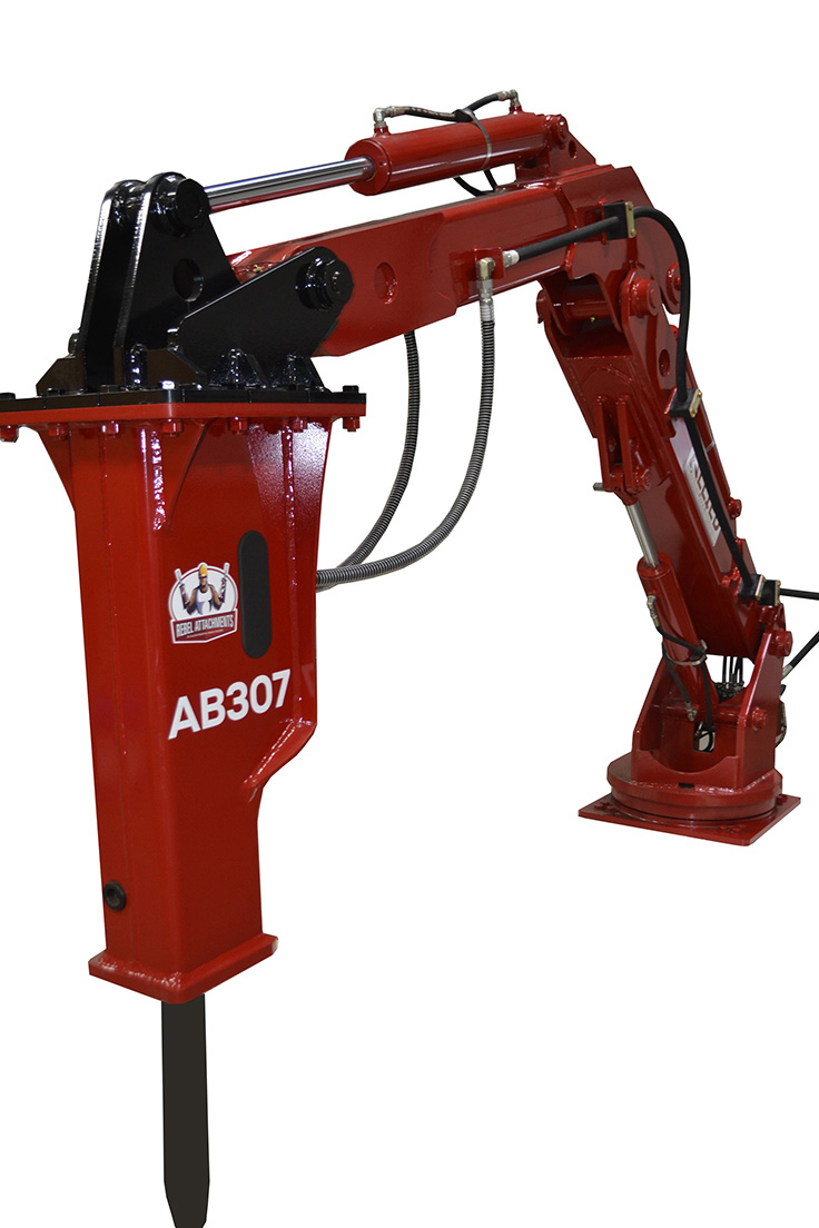 Photo: Allied Pedestal Boom Systems