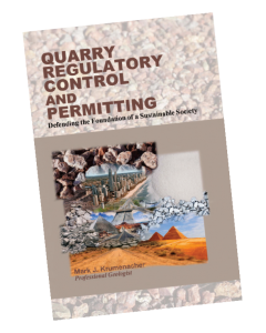 """The intended audience of """"Quarry Regulatory Control & Permitting: Defending the Foundation of a Sustainable Society"""" is lawmakers, town planning commissions and boards, county zoning and land use agency members, neighbors, students and the general public. Photo: Mark Krumenacher"""