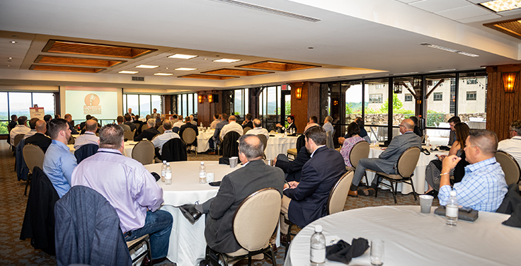 The 2021 Pit & Quarry Roundtable & Conference took place at the Omni Grove Park Inn in Asheville, North Carolina. Photo: PamElla Lee Photography