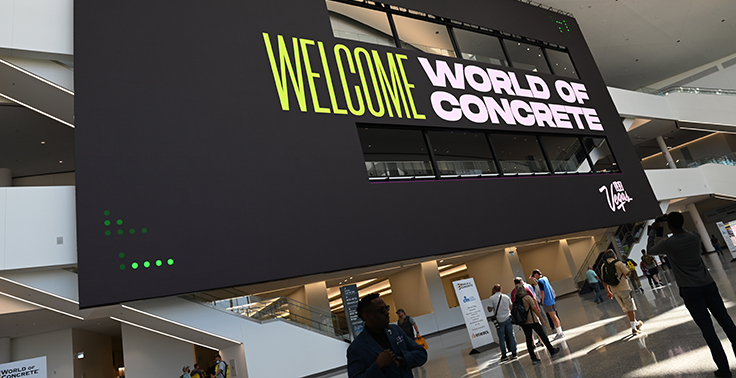 World of Concrete 2021 took place June 8-10. Photo: Informa Markets