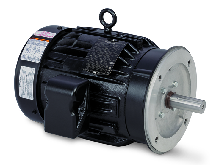 Baldor-Reliance Severe Duty XT motors are available for fast delivery and installation, according to ABB. Photo: ABB