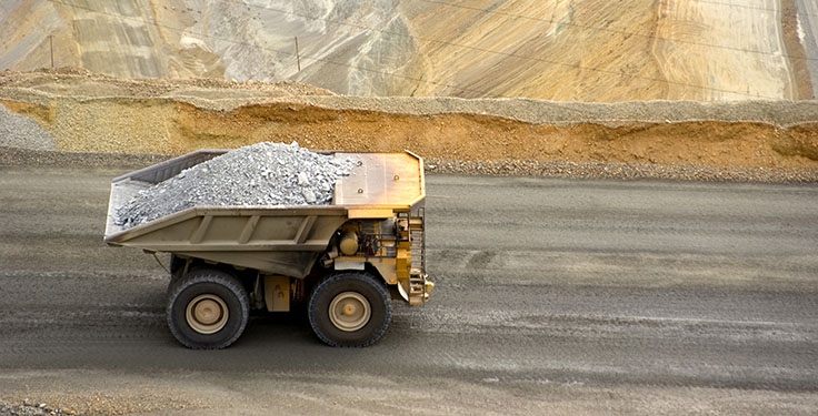 According to the Mine Safety & Health Administration, recent vehicle rollover accidents in mines involved haul trucks, excavators, bulldozers, loaders and service trucks. Photo: RiverRockPhotos/E+/Getty Images