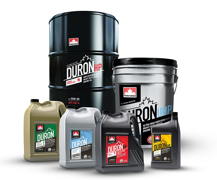 HollyFrontier Lubricants & Specialties' line of products for the mining industry includes Petro-Canada Lubricants Duron heavy-duty engine oils. Photo: HollyFrontier Corp.
