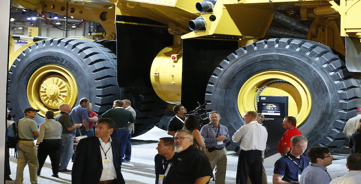MINExpo International 2021 exhibits will be available in the Las Vegas Convention Center's North Hall, Central Hall and South Hall 1 and 2. (Photo: National Mining Association)