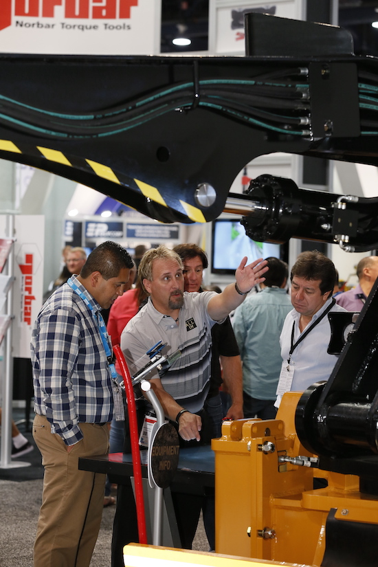 More than 1,300 exhibitors are expected to take part in MINExpo 2021. (Photo: National Mining Association)