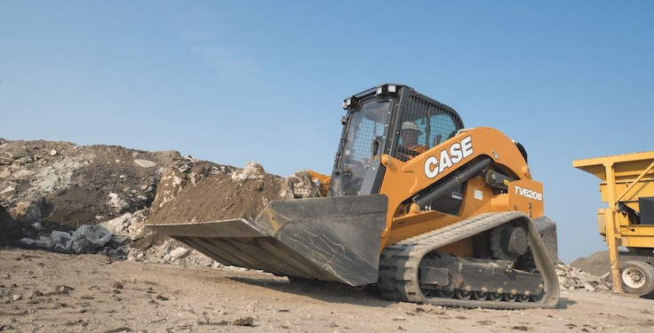 """Case Construction Equipment's new TV620B compact track loader is being touted as the """"largest and most powerful"""" CTL ever built. Photo: Case CE"""