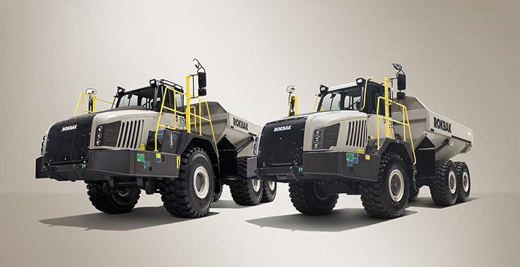 Rokbak is the new name for Terex Trucks, with the new brand representing the continuation of the company's hauling heritage. Photo: Rokbak